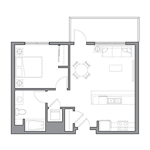 Floor Plan  Chardonnay